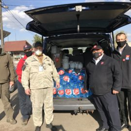 Salvation Army Assists Emergency Workers Tackling Chernobyl Wildfires