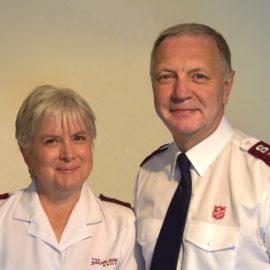 Meeting Lieut-Colonels Richard & Ann Borrett