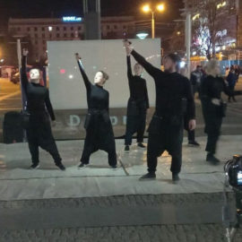 Ukraine theatre group brings gospel to the stage