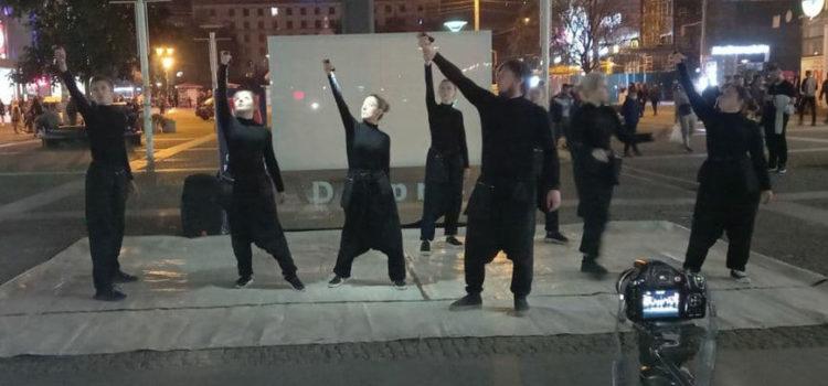 Українська театральна група приносить на сцену Євангеліє
