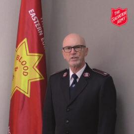 Colonel Kelvin Pethybridge, Eastern Europe Territory Commander, launches Strategic Plan for Eastern Europe Territory